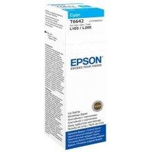 Тонер Epson T6642 Tintenflasche голубой 70ml