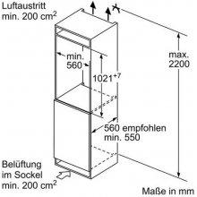 Külmik SIEMENS KI32LVF30 Einbau-Kühlautomat...