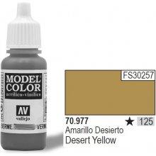 Vallejo Farba Nr 125 Desert kollane 17ml...