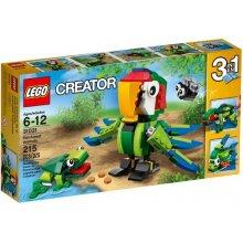 LEGO Creator Zwierzęta z lasu deszczowego