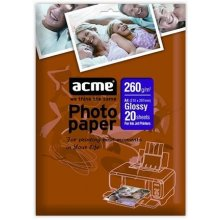 Acme foto Paper Glossy, A4, Weight 260 g/m²