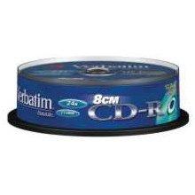 Toorikud Verbatim CD-R 210MB 10pcs Pack 24x...