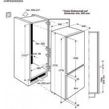 Külmik AEG SCS51800S1
