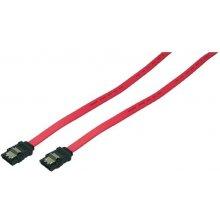LogiLink SATA Kabel mit Arretierung 0.75m...