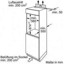 Külmik BOSCH KIR18V60 (EEK: A++)
