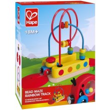 Hape TRAIN Track koos rainbow labyrinth