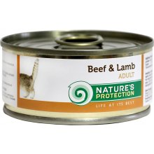 Natures Protection NP Cat Beef&Lamb 100g...