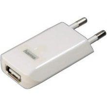 Hama Toalaadija USB Slim 1A белый