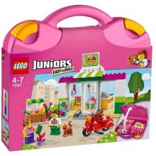 LEGO Juniors Walizeczka - supermarket