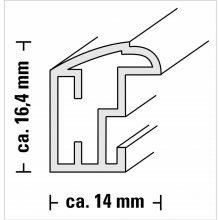 Hama Saragossa steel 13x18 Plastic raam...