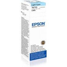 Тонер Epson чернила T6735 light голубой | 70...