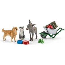 Schleich Farm Life Farm Animal Feeding
