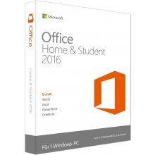 Microsoft Office 2016 Home ja Student (DE)...