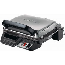TEFAL GC 3060 Grill must/hõbedane