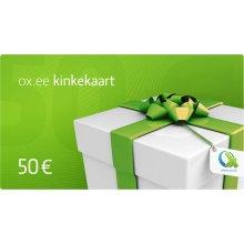 OX.ee kinkekaart 50 €