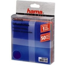 Диски Hama 1x50 CD-/DVD- Protective Sleeves...