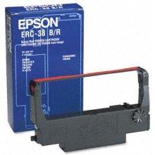 Тонер Epson ERC 38 Farbband чёрный - красный