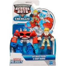 HASBRO TRA figures Optimus ja Cody
