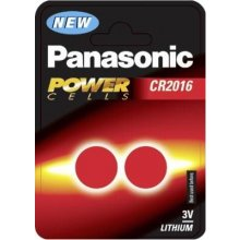 PANASONIC 1x2 CR 2016 литий Power