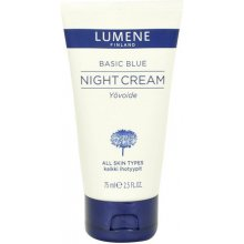 LUMENE Basic Blue Night Cream, Cosmetic...