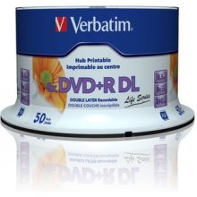 Диски Verbatim DVD+R DL [ spindle 50 | 8,5GB...
