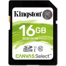 Mälukaart KINGSTON 16GB SD Select