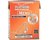 Platinum Menu Turkey + Salmon 375g