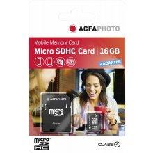 Флешка AGFAPHOTO Mobile 16GB MicroSDHC Class...
