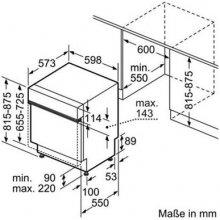 Посудомоечная машина BOSCH SMI50D45EU (EEK:...