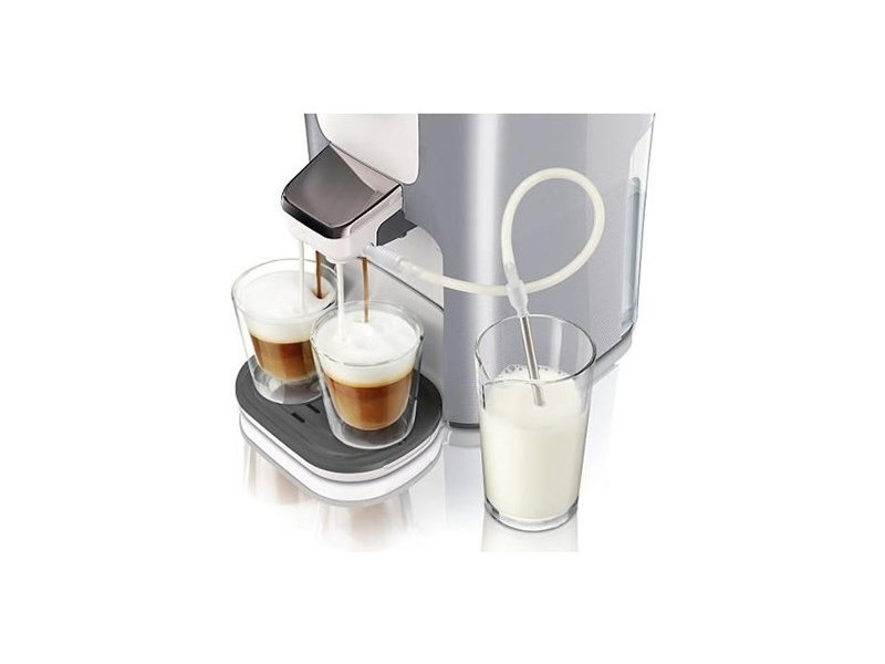 philips senseo hd7857 20 latte duo pearl silver. Black Bedroom Furniture Sets. Home Design Ideas