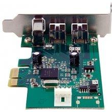 StarTech.com PEX1394B3LP, PCIe, 2x 9-pin...