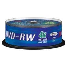 Диски Verbatim DVD-RW 4x 4.7GB 25P CB...