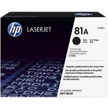 Tooner HP Toner CF 281 A black No. 81 A