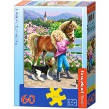 Castor 60 EL. Spacer z k ucem i psem