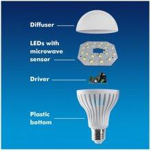 Maclean LED bulb E27 9W 230V Energy MCE 177...