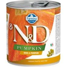 Farmina N&D PUMPKIN Quail Adult konserv 140g...