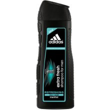 Adidas Extra Fresh, Shampoo 400ml, Shampoo...