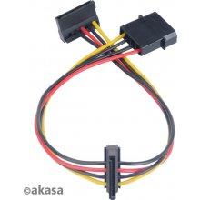 AKASA AK-CBPW01-30, Molex (4-pin), SATA...
