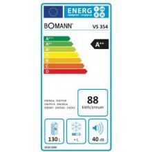 Холодильник Bomann VS354Y жёлтый