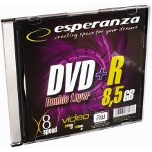 ESPERANZA DVD+R 8,5GB Double Layer x8 - Slim...