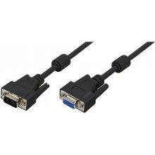 LogiLink VGA extension cable male female 1.8...