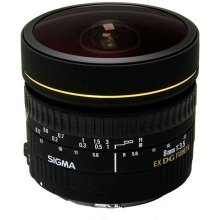 Sigma EX 8mm F3.5 DG Zirkular-Fisheye Canon