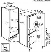 Külmik AEG SCT81800F0