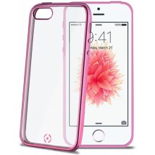 Celly iPhone 5S/SE чехол Laser,fuksia