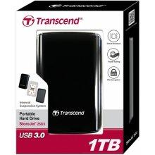 """Kõvaketas Transcend väline HDD 25D3 2.5"""" 1TB..."""