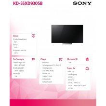 Teler Sony Television KD55XD9305B
