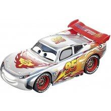 CARRERA GO!!! hõbedane Lightning McQueen...