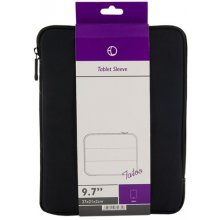 """4World Tatoo Tablet Case 9.7"""" Black and Grey"""