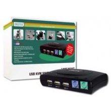 DIGITUS USB 2.0-KVM Switch, 2-Port