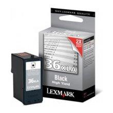 Tooner Lexmark 36XLA, Black, Standard...